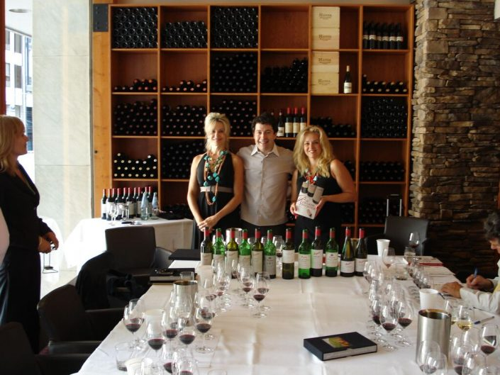The Wine Ladies With Celebrity winemaker Peter Gago, Penfolds REDS Bistro, 2008