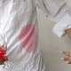 How to remove are wine stain.