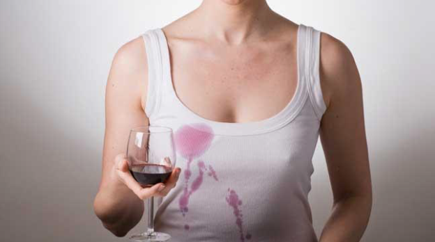 How to remove a red wine stain.