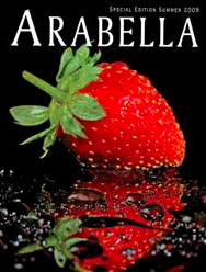 Arabella Magazine featuring The Wie Ladies article Bubbles & Bites. Summer 2009