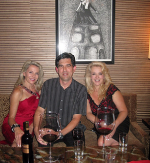 Director Kalman Szegvary, Talking Wine With The Stars, TIFF, The Wine Ladies TV