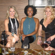 Actress Raven Dauda, Talking Wine With The Stars, TIFF, The Wine Ladies TV