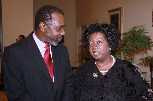 Dancing With A Vision Gala,Nigel Smith, Jamaica Consul and Hon. Jean Augustine