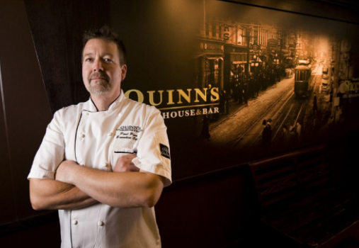 Chef Paul Pisa, Quinns Steakhouse
