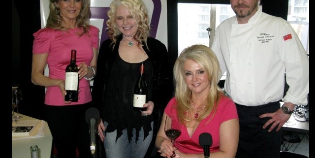 Astrid Young with The Wine Ladies, That Channel TV