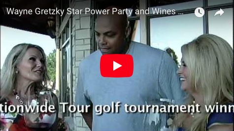 Sir Charles Barkley at the Wayne Gretzky Golf Classic