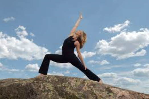 Barb Leese of Igita Yoga.