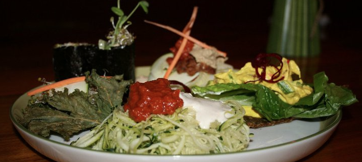 Nzyme Restaurant in Oakville features a raw food diet.