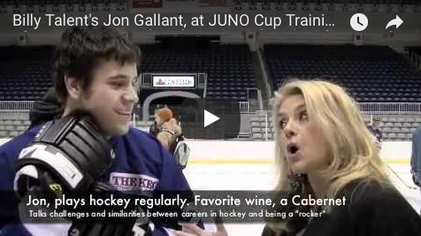 Juno Cup, Billy Talent, Jon Gallant, Susanne, The Wine Ladies TV