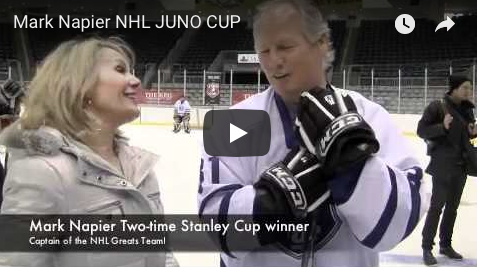 JUNO Cup drills, NHL Mark Napier, Georgia, The Wine Ladies TV