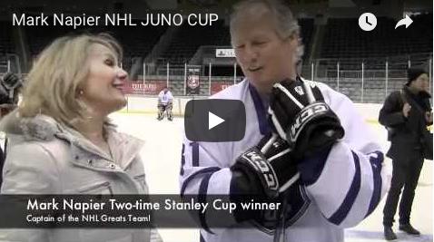 JUNO Cup drills, NHL Mark Napier, Georgia, The Wine Ladies TV