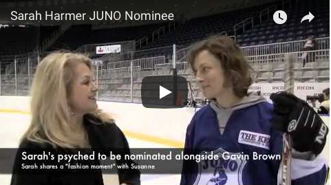 JUNO Cup drills, Juno Nominee Sarah Hammer, The Wine Ladies TV