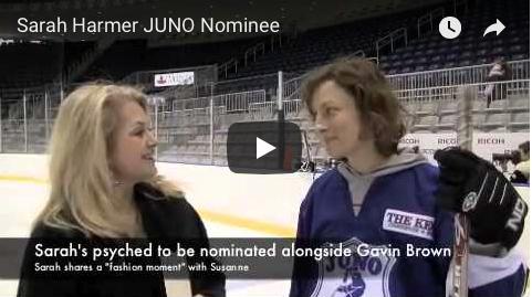 JUNO Cup drills, Juno Nominee Sarah Hammer, The Wine Ladies TV
