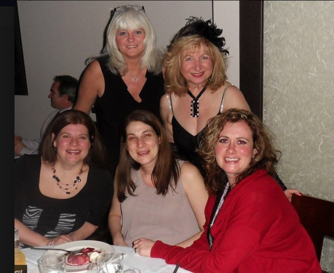 The Wine Ladies Wine Tasting Dinner for the Heart and Stroke Foundation of Ontario.
