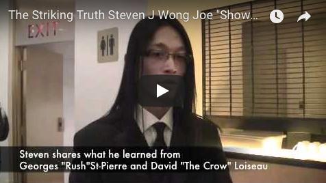 "The Striking Truth Steven J Wong Joe ""Showdown"" Ferraro"