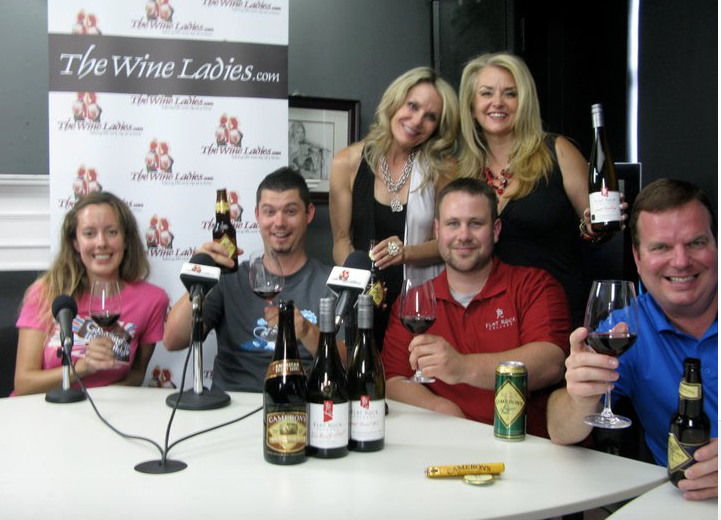 Happy Canada Day! Local wine with Flat Rock Cellars, Cameron's Brewing Company and Peapod Cuisine.