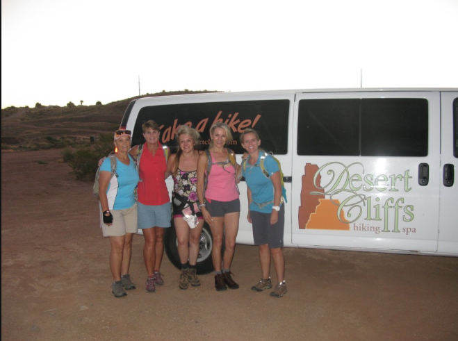 Desert Cliffs Hiking Spa