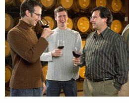 The Speck Bros., Daniel, Matthew and Paul Henry of Pelham Winery