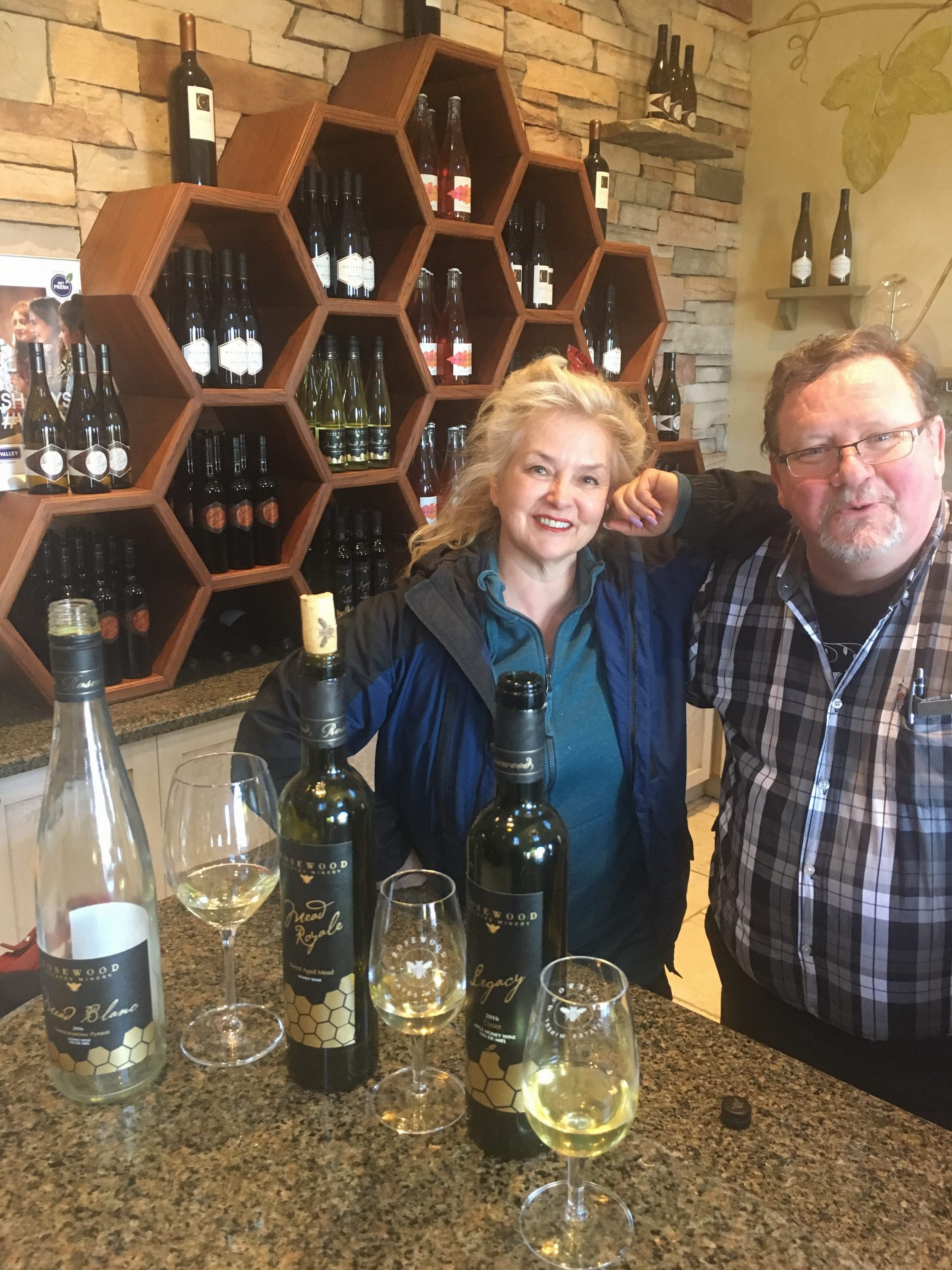 Rosewood Esates Winery with Sommelier and Consultant Robert W Paul