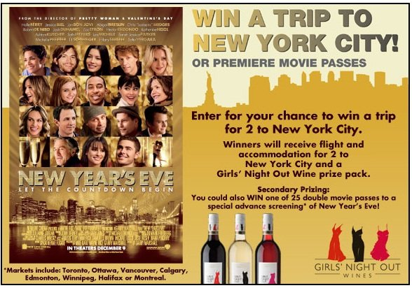 Win A Trip To New York City