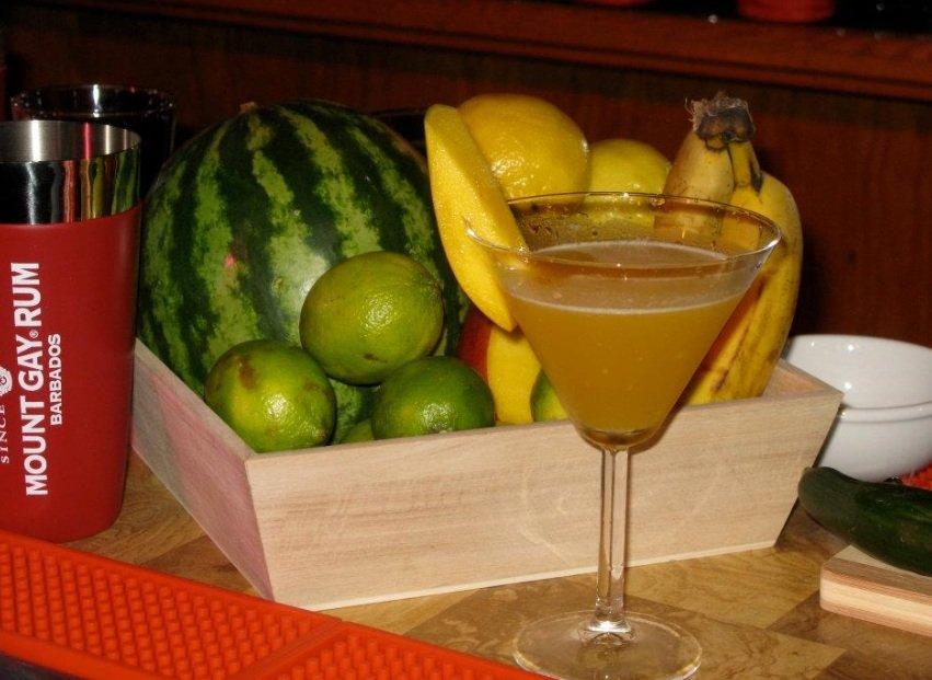 Mount Gay Mango Martini