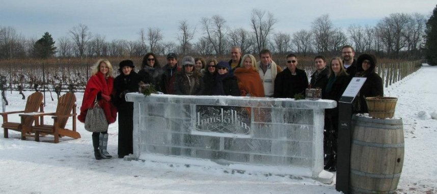 The Wine Ladies visit Inniskillin with one of their wine tours.