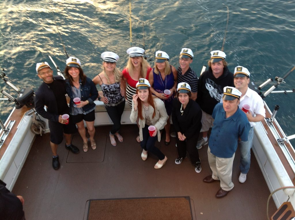 The Wine Ladies Salmon Pleasure Cruise June 24 2012,