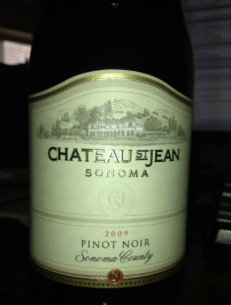 Chateau St.Jean Sonoma County Pinot Noir