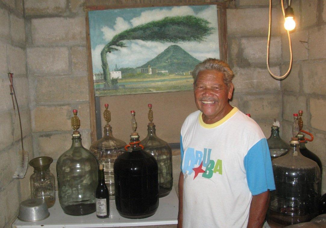 Aruba Winemaker, The Wizard, Vincente Kock