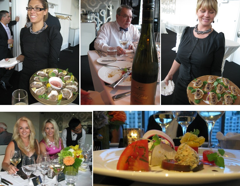 Wolf Blass wine dinner at TIFF