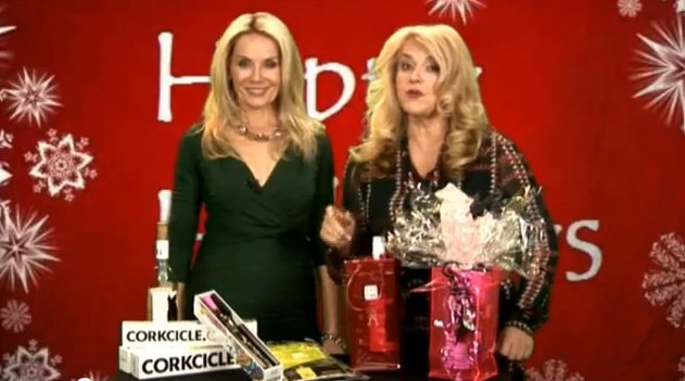 Happy Holidays Commercial Corkcicle Icebags