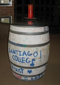 We are enrolled into Santiago's winemaking college!