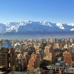 Stunning Santiago with the Andes as a backdrop. Breathtaking!