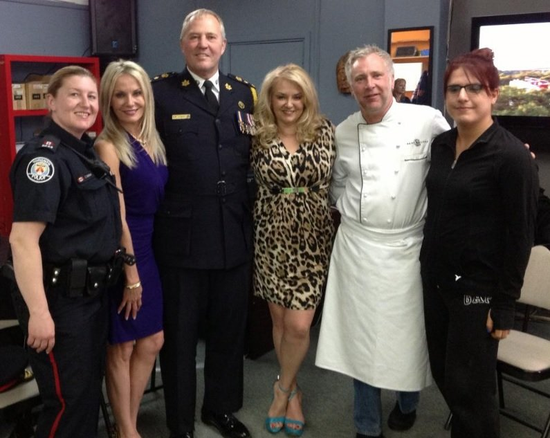 ProAction Cops and Kids. The Wine Ladies TV welcomes Toronto Chief of Police William Blair and Celebrity Chef Brad Long.