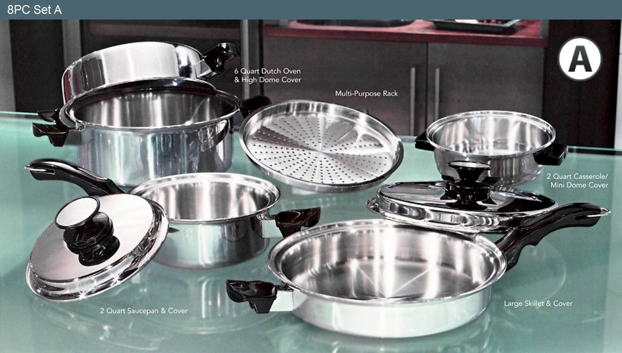 Belkraft 's Stainless Steel Vacumatic and Waterless Cookware