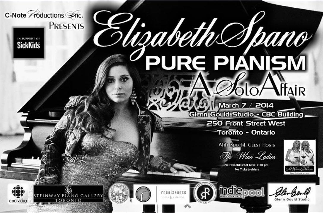 """Elizabeth Spano, the """"Piano Rebel"""""""
