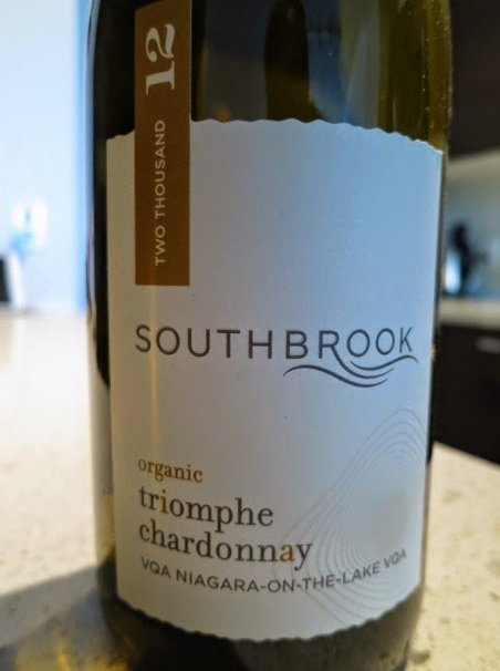 Southbrook Vineyards Triomphe Chardonnay 2012