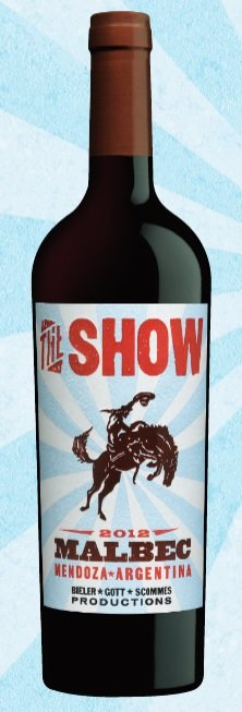Rebel Wine 2012 The Show Malbec