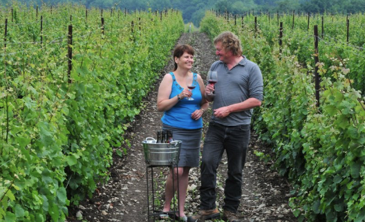 Rosehall Run Vineyards, Lynn and Dan Sullivan