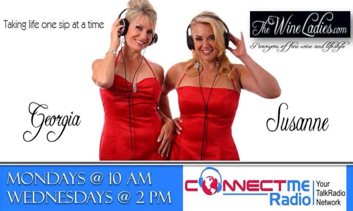 The Wine Ladies on Connect Me Radio