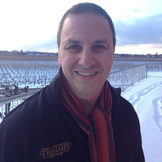 Charlie Pillitterri, the CEO of  family owned Pillitteri Estates Winery