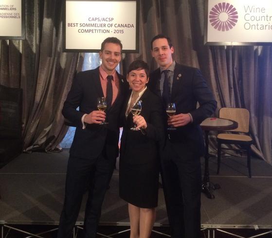 Wine Country Ontario announce Canada's Best Sommelier, Elyse Lambert