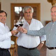 Founders of MontGras,Hernan Gras Eduardo Gras Cristian Hartwig.
