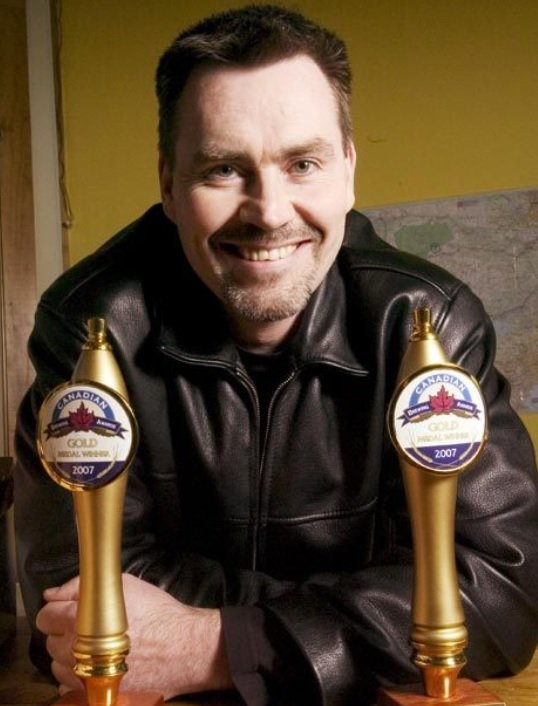 Founder and President Gary McMullen, Muskoka Brewery.