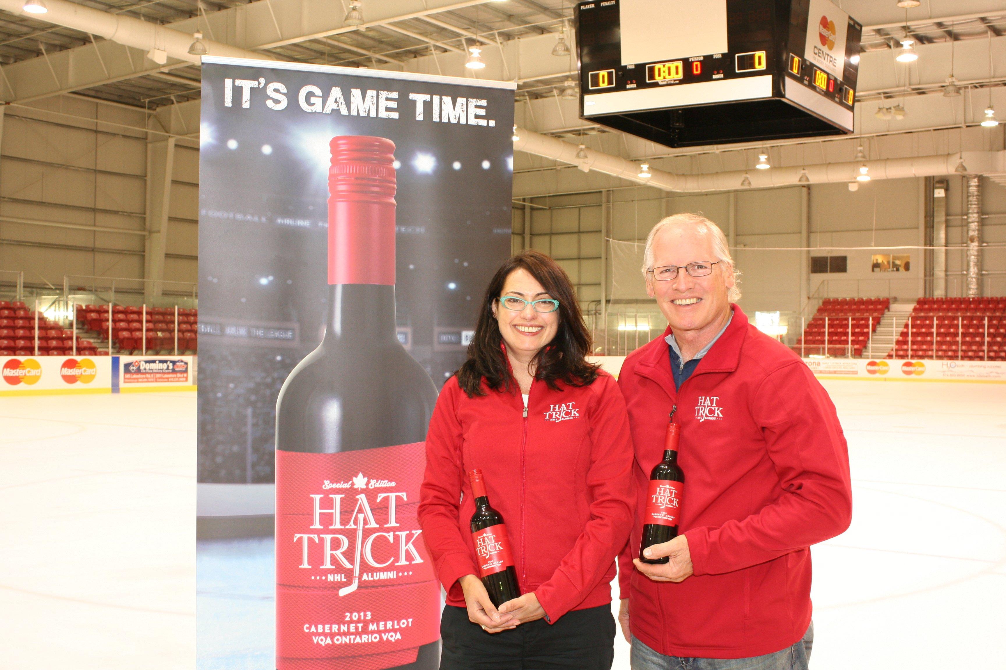 Danielle of Colio Wine Estates and Mark Napier
