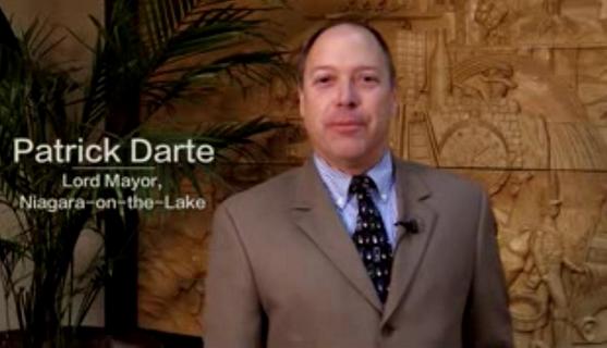 Lord Mayor of Niagara-on-the-Lake, Pat Darte