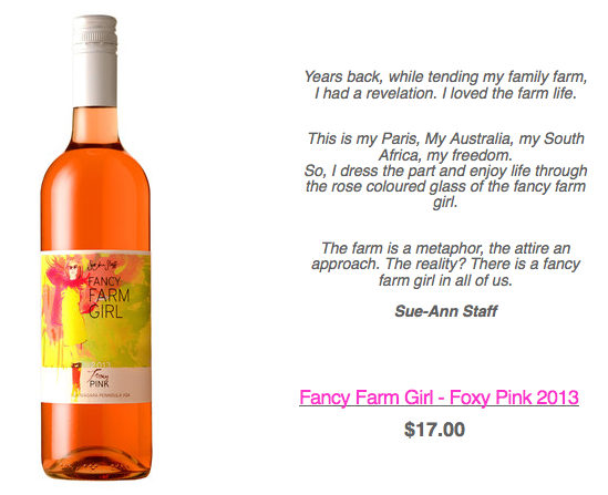 Fancy Farm Girl - Foxy Pink 2013