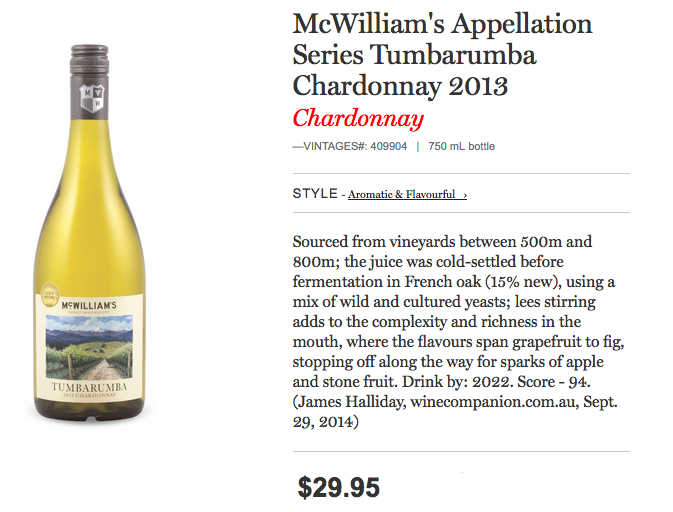McWilliam's Family Winemakers
