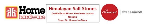 Home Hardware, Himalayan Salt Stones.