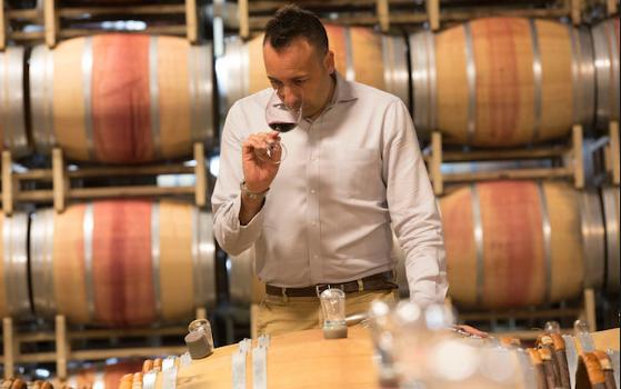Juan Munoz Oca the winemaker for Columbia Crest Winery.